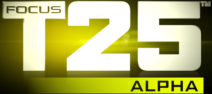 Focus t25 workout schedule alpha - Treinar em Casa