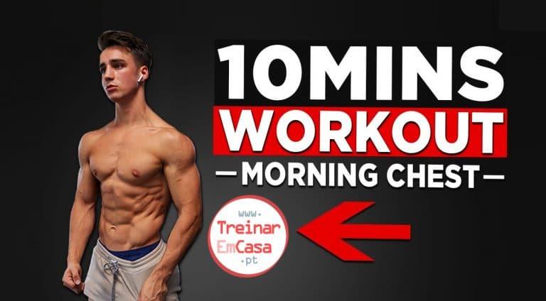 10 min treino peito