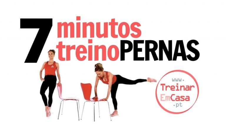 7 minutos treino pernas
