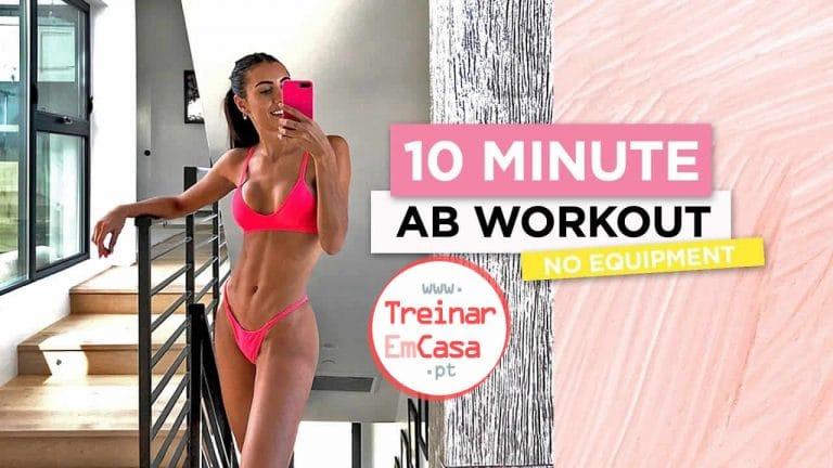 10 min treino abdominal