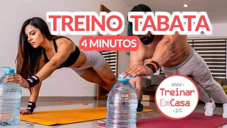 Treino Tabata - 4 min