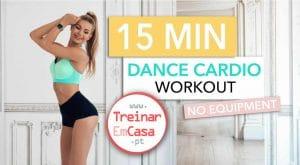 15 min dança cardio - Treinar em Casa