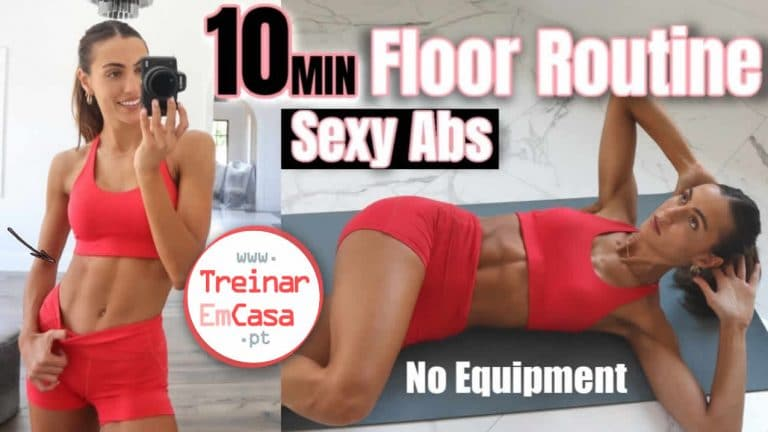 10 min abdominais sexy - Treinar em Casa
