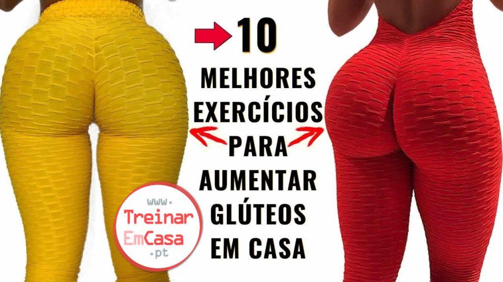 10 MELHORES EXERCICIOS Para AUMENTAR GLUTEOS EM CASA