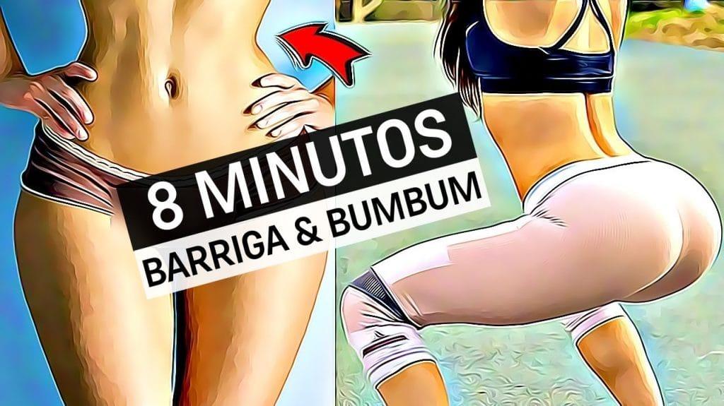 5 Exercícios Para Perder Barriga e Aumentar Glúteos Rápido