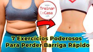 7 Exercícios Poderosos Para Perder Barriga Rápido